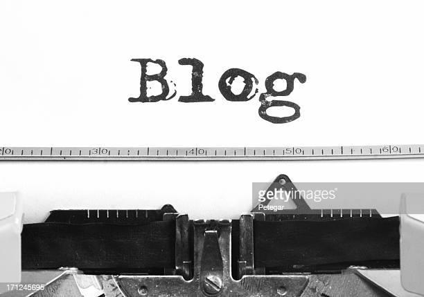 Blog RetroTypewriter