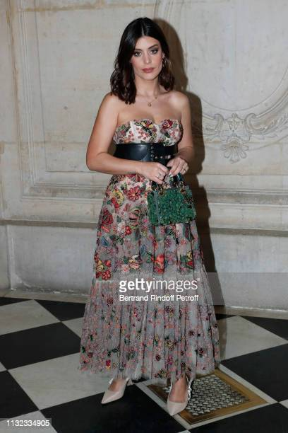 Blogger Aida Domenech attends the Christian Dior show as part of the Paris Fashion Week Womenswear Fall/Winter 2019/2020 on February 26 2019 in Paris...