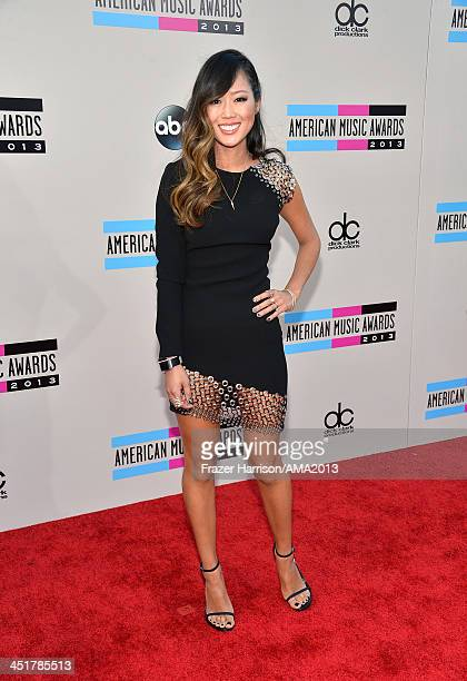 Blogger Aimee Song attends 2013 American Music Awards at Nokia Theatre LA Live on November 24 2013 in Los Angeles California