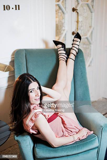 Blogger Alessandra Airo is photographed for Self Assignment on April 20 2016 in Rome Italy