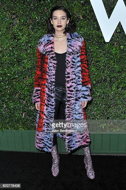 Blogger Amanda Steele attends Who What Wear 10th Anniversary #WWW10 Experience on November 2 2016 in Los Angeles California