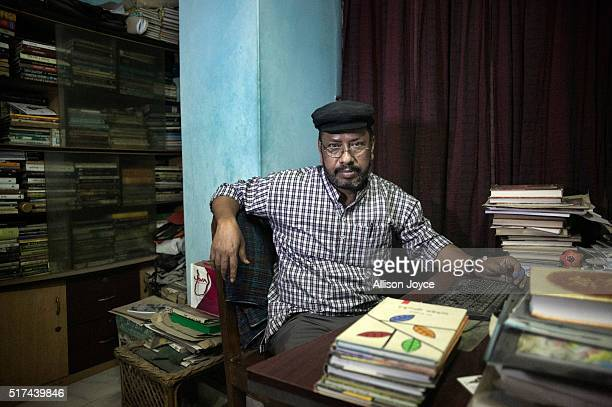 Blogger and author Ranadipan Basu poses for a photo on March 21 2016 in an unspecified city in Bangladesh Basu was stabbed 9 times last year on the...