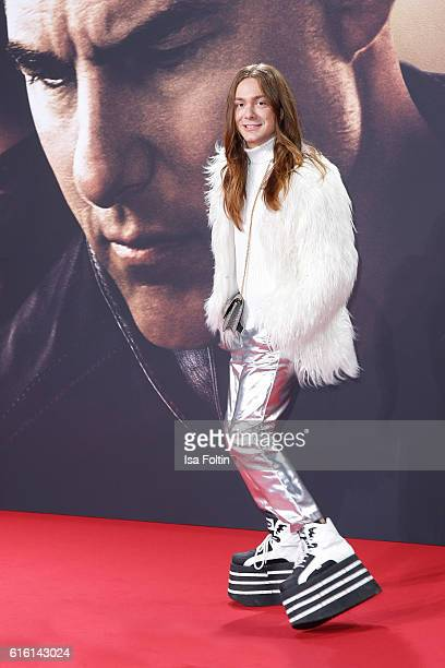 Blogger and Influencer Riccardo Simonetti attends the 'Jack Reacher Never Go Back' Berlin Premiere at CineStar Sony Center Potsdamer Platz on October...