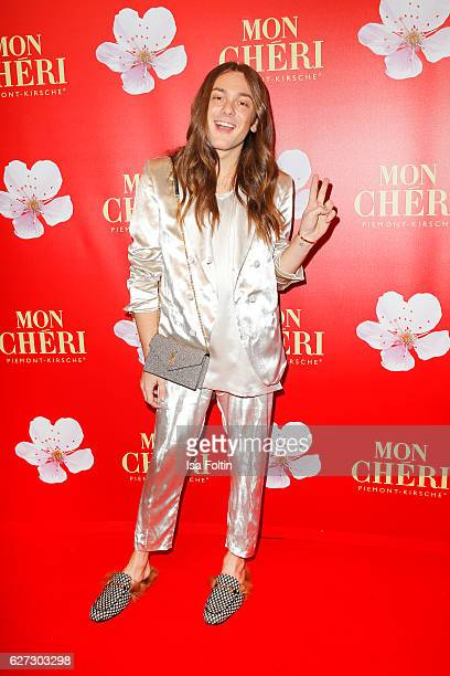 Blogger and influencer Riccardo Simonetti attends the Mon Cheri Barbara Tag at Postpalast on December 2, 2016 in Munich, Germany.