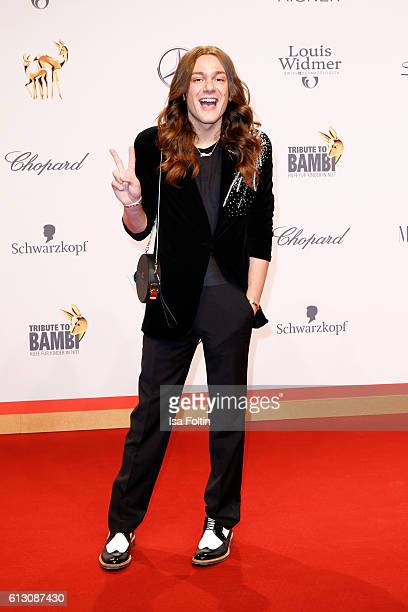 Blogger and Influencer Riccardo Simonetti attends the Tribute To Bambi at Station on October 6 2016 in Berlin Germany