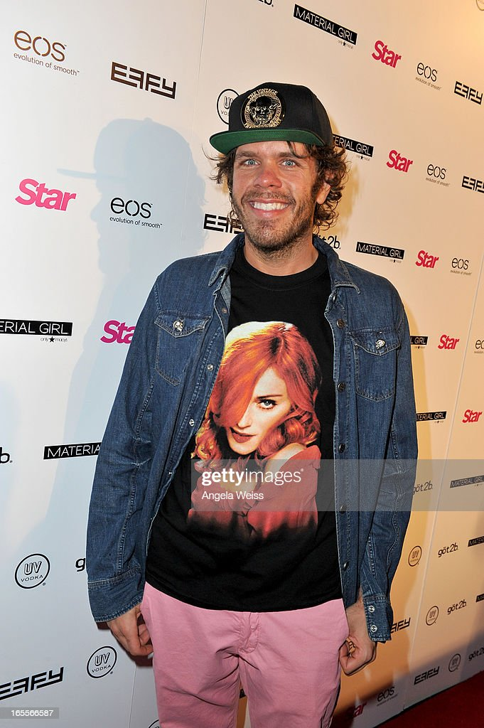 Blogger and TV personality Mario Armando Lavandeira, Jr. aka Perez Hilton attends Star Magazine's Hollywood Rocks event held at Playhouse Hollywood on April 4, 2013 in Los Angeles, California.