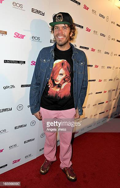 Blogger and TV personality Mario Armando Lavandeira Jr aka Perez Hilton attends Star Magazine's Hollywood Rocks event held at Playhouse Hollywood on...