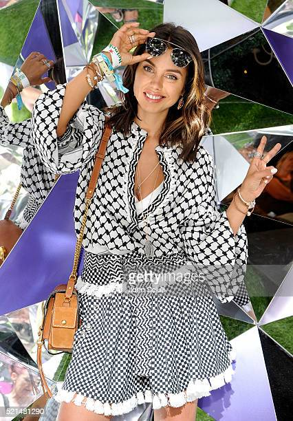Blogger Annabelle Fleur attends PANDORA Jewelry at Coachella at The Empire Polo Club on April 15 2016 in Indio California