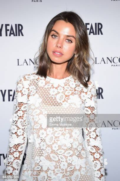 Blogger Annabelle Fleur attends Vanity Fair and Lancome Toast to The Hollywood Issue at Chateau Marmont on February 23 2017 in Los Angeles California