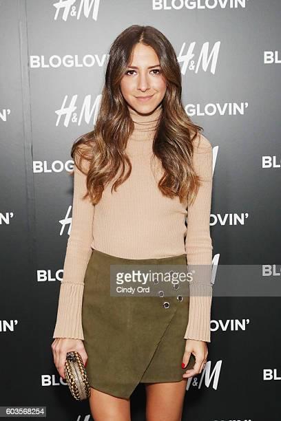 Blogger Arielle Noa Charnas attends the Blog Lovin' Awards at Industria Superstudio on September 12 2016 in New York City