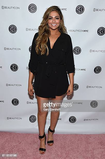 Blogger Bethany Mota attends the 3rd Annual Beautycon Festival New York at Pier 36 on October 1 2016 in New York City