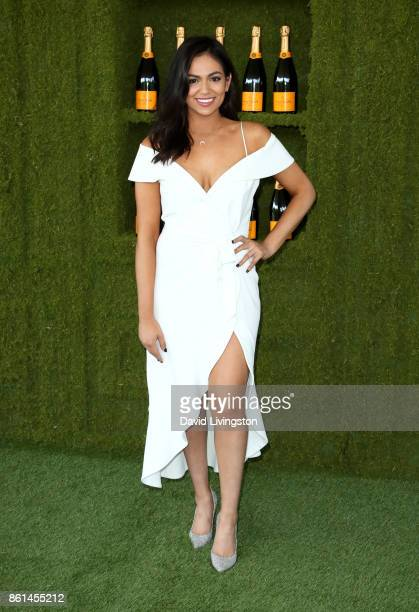 Blogger Bethany Mota attends the 8th Annual Veuve Clicquot Polo Classic at Will Rogers State Historic Park on October 14 2017 in Pacific Palisades...