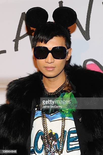 Blogger Bryan Boy attends the Lanvin for HM Haute Couture Show at The Pierre Hotel on November 18 2010 in New York City