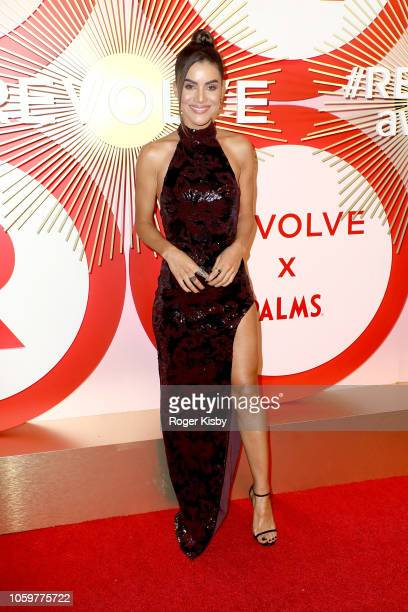Blogger Camila Coelho attends Revolve's second annual #REVOLVEawards at Palms Casino Resort on November 9 2018 in Las Vegas Nevada