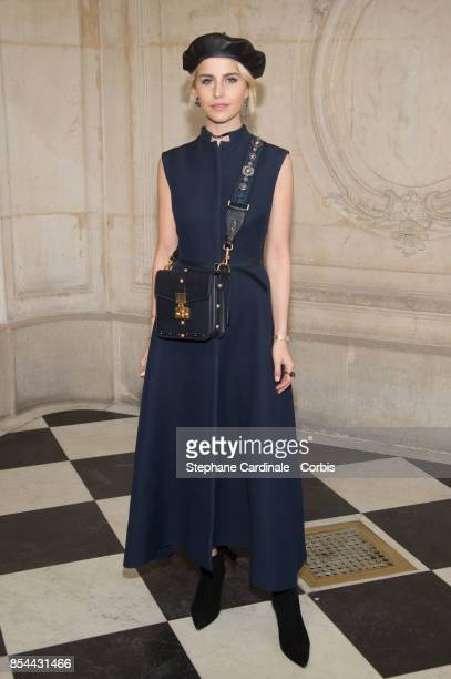 Blogger Caroline Daur attends the Christian Dior show as part of the Paris Fashion Week Womenswear Spring/Summer 2018 at on September 26 2017 in...