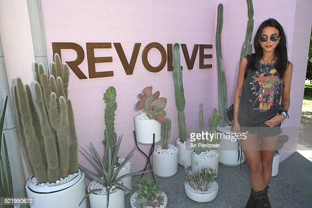 Blogger Chiara Biasi attends REVOLVE Desert House on April 17 2016 in Thermal California