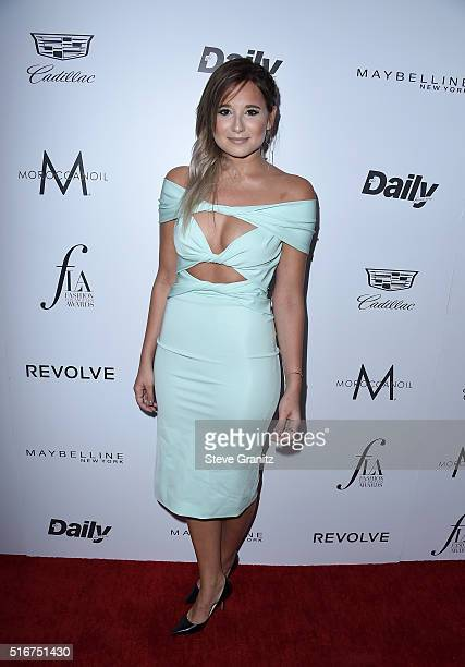 Blogger Danielle Bernstein attends the Daily Front Row Fashion Los Angeles Awards at Sunset Tower Hotel on March 20 2016 in West Hollywood California
