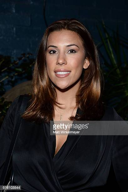 Blogger Devin Brugman attends the Bollare 10 Year Anniversary Dinner Celebration at Palihouse West Hollywood on March 29 2016 in West Hollywood...