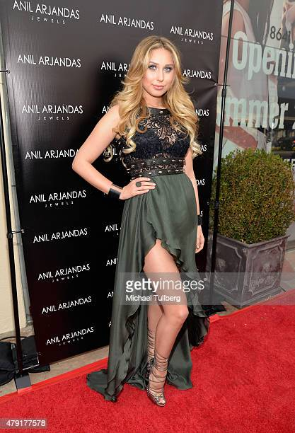 f3b80afa7cfa09 Blogger Ella Mois attends the grand opening of the Anil Arjandas Jewels Los  Angeles Boutique on