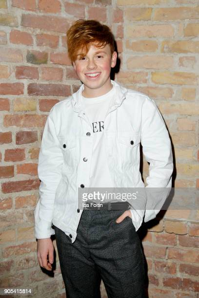 Blogger Erik Scholz during the Bunte New Faces Night at Grace Hotel Zoo on January 15 2018 in Berlin Germany