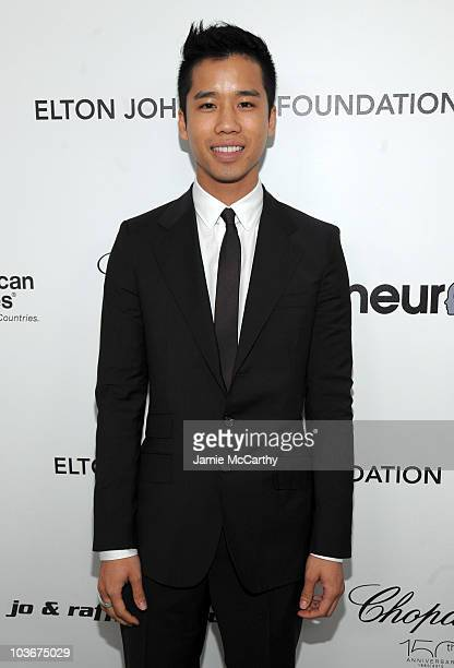 Blogger Jared Eng arrives at the 18th Annual Elton John AIDS Foundation Oscar party held at Pacific Design Center on March 7 2010 in West Hollywood...