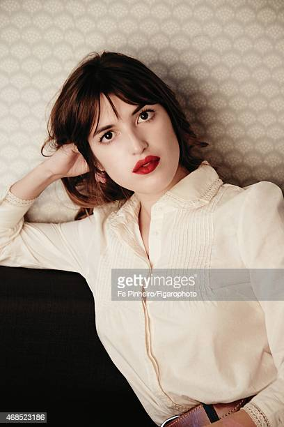 Blogger Jeanne Damas is photographed for Madame Figaro on December 3 2014 in Paris France Top CREDIT MUST READ Fe Pinheiro/Figarophoto/Contour by...