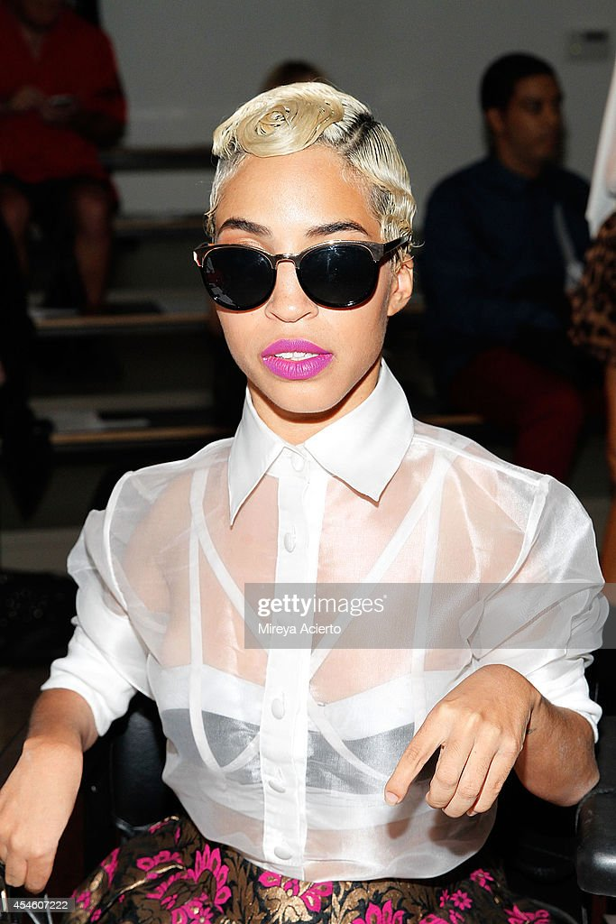 Blogger Jillian Mercado attends the Houghton runway show during MADE Fashion Week Spring 2015 at Milk Studios on September 4, 2014 in New York City.