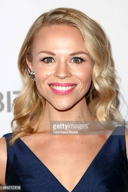 Blogger Julie Solomon attends the Neutrogena Hydro Boost + MyHabit With OK!TV Oscars Viewing Party on February 22, 2015 in Hollywood, California.