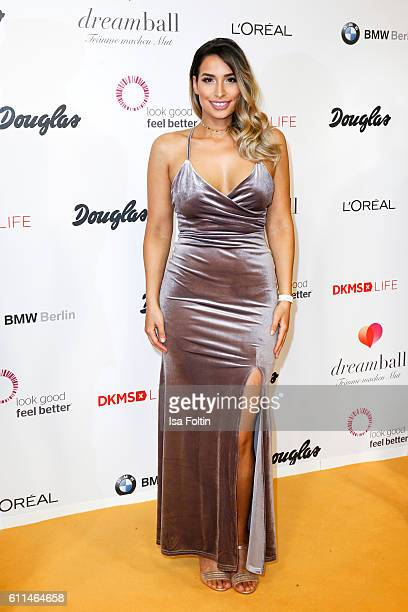 Blogger Lamiya Slimani attends the Dreamball 2016 at Ritz Carlton on September 29 2016 in Berlin Germany
