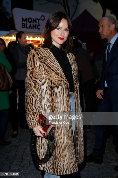 Blogger Lena Lademann attends the Montblanc spring party on May 3 2017 in Munich Germany