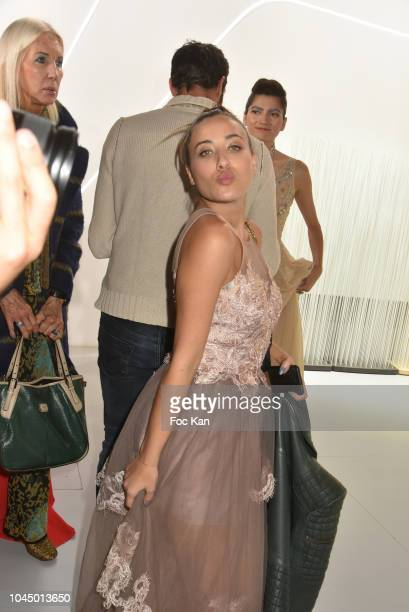 Blogger Lina Lindhomt attends the Christophe Guillarme show as part of the Paris Fashion Week Womenswear Spring/Summer 2019 on October 2 2018 in...