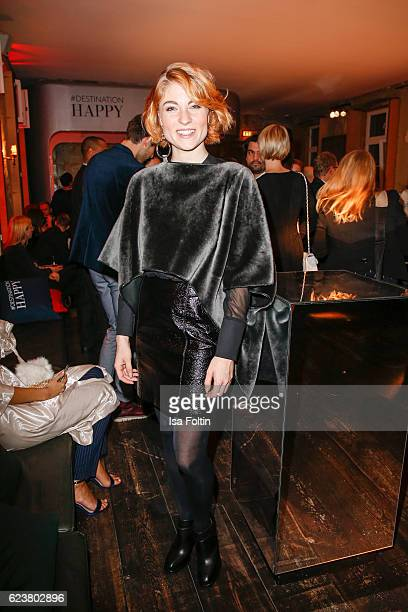 Blogger Lisa Banholzer attends the New Faces Award Fashion 2016 the New Faces Award Fashion 2016 on November 16 2016 in Berlin Germany