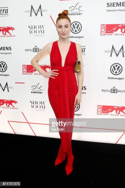 Blogger Lisa Banholzer attends the New Faces Award Style 2017 at The Grand on November 15 2017 in Berlin Germany