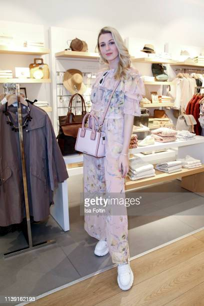 Blogger Lisa Marie Kroeger during the GRAZIA x YARGICI store event on April 24 2019 in Hamburg Germany