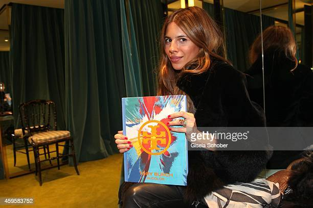 Blogger Maja Wyh during the 'Tory Burch In Color' Book Launch on November 25 2014 in Munich Germany