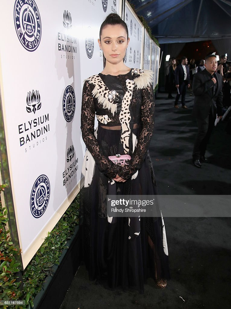 Blogger Marta Pozzan attends The Art of Elysium presents Stevie Wonder's HEAVEN - Celebrating the 10th Anniversary at Red Studios on January 7, 2017 in Los Angeles, California.