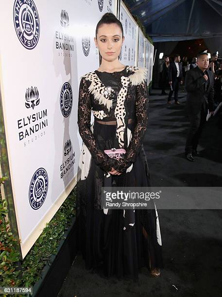 Blogger Marta Pozzan attends The Art of Elysium presents Stevie Wonder's HEAVEN Celebrating the 10th Anniversary at Red Studios on January 7 2017 in...