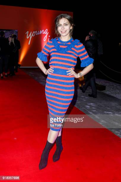 Blogger Masha Sedgwick attends the Young ICONs Award in cooperation with ICONIST at BRLO Brwhouse on February 14 2018 in Berlin Germany