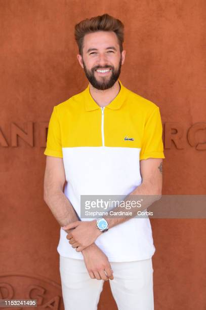 Blogger Nicolas Plasmondon attends the 2019 French Tennis Open Day Eight at Roland Garros on June 02 2019 in Paris France