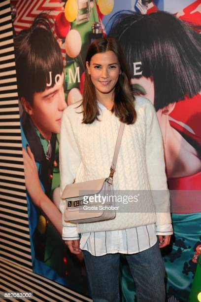 Blogger Nina Schwichtenberg during the Jo Malone London 'Crazy Colourful Christmas' event at Goldberg Studios on November 29 2017 in Munich Germany
