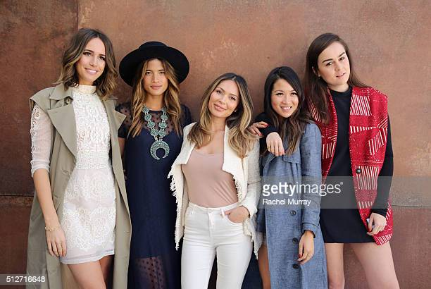 Blogger Panel with Front Roe blogger Louise Roe RockyBarnes blogger Rocky Barnes Life With Me blogger Marianna Hewitt WendyÕs Lookbook blogger Wendy...