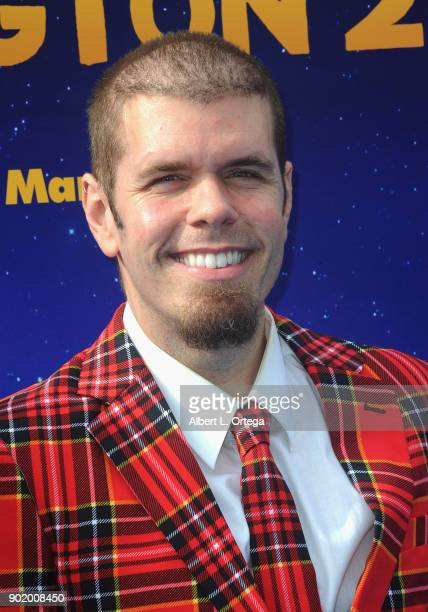 Blogger Perez Hilton arrives for the premiere of Warner Bros Pictures' 'Paddington 2' held at Regency Village Theatre on January 6 2018 in Westwood...