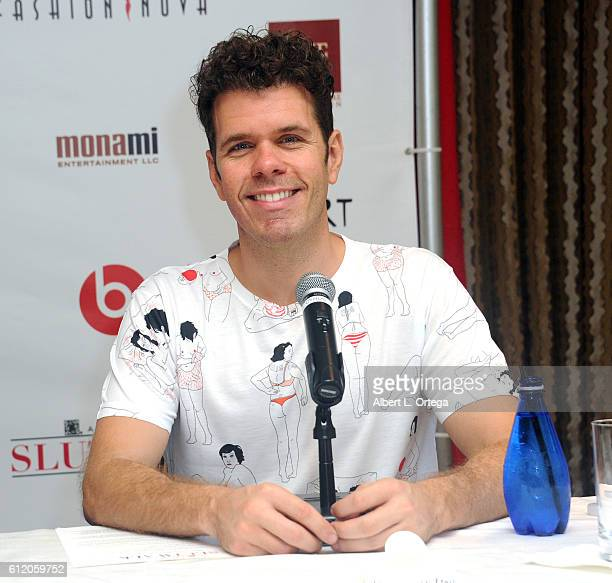 Blogger Perez Hilton at the SlutWalk Festival press conference with Amber Rose And Perez Hilton held at Four Seasons Hotel Los Angeles at Beverly...