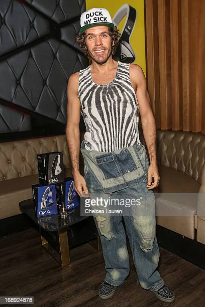 Blogger Perez Hilton attends the Perez Hilton CD release party at Bootsy Bellows on May 16 2013 in West Hollywood California