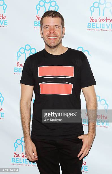 Blogger Perez Hilton attends the Voices For The Voiceless Stars For Foster Kids event at the St James Theater on June 29 2015 in New York City