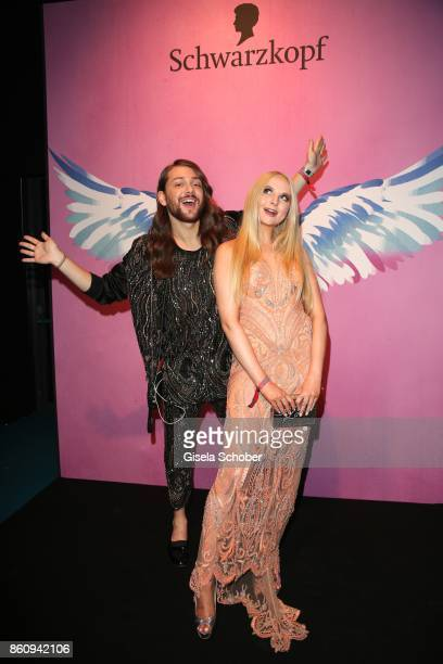 Blogger Riccardo Simonetti and Anna Hiltrop during the 'Tribute To Bambi' gala at Station on October 5 2017 in Berlin Germany