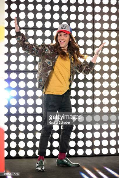 Blogger Riccardo Simonetti wearing an outfit by KONEN during the KONEN Urban Summer Show on February 15 2017 in Munich Germany