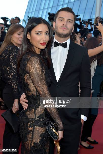 Blogger Sananas and a guest attend the '120 Beats Per Minute ' screening during the 70th annual Cannes Film Festival at Palais des Festivals on May...