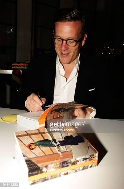 Blogger Scott Schuman know as The Sartorialist launches his eponymous book at Sass Bide Oxford Street on December 8 2009 in Sydney Australia Schuman...