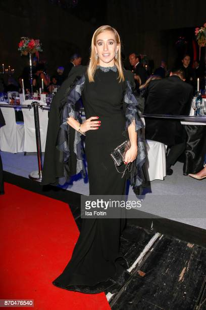 Blogger Sonia Lyson during during the 24th Opera Gala at Deutsche Oper Berlin on November 4 2017 in Berlin Germany